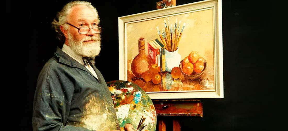 Les Nind, Artist.