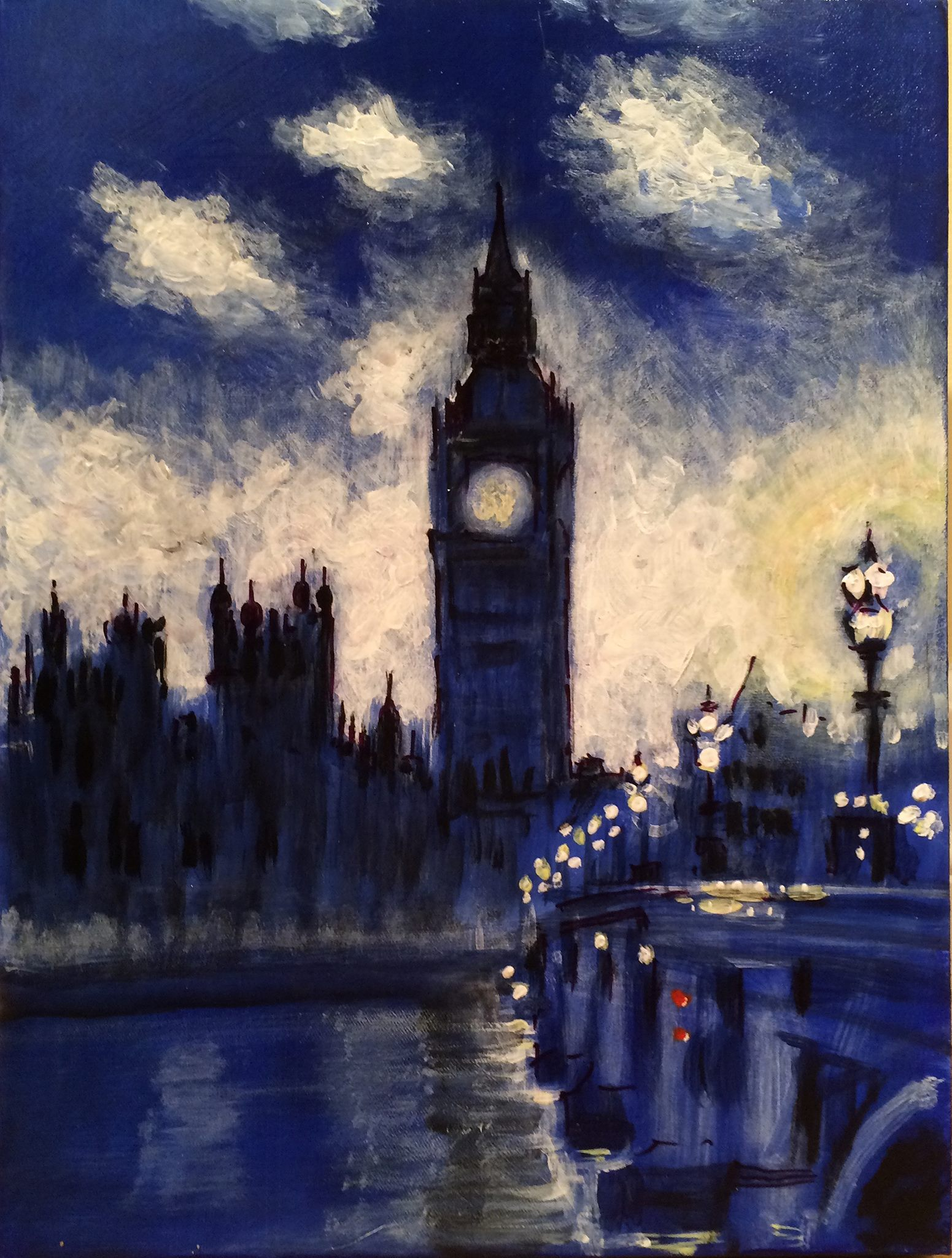 Westminister Thames By Paul Austin