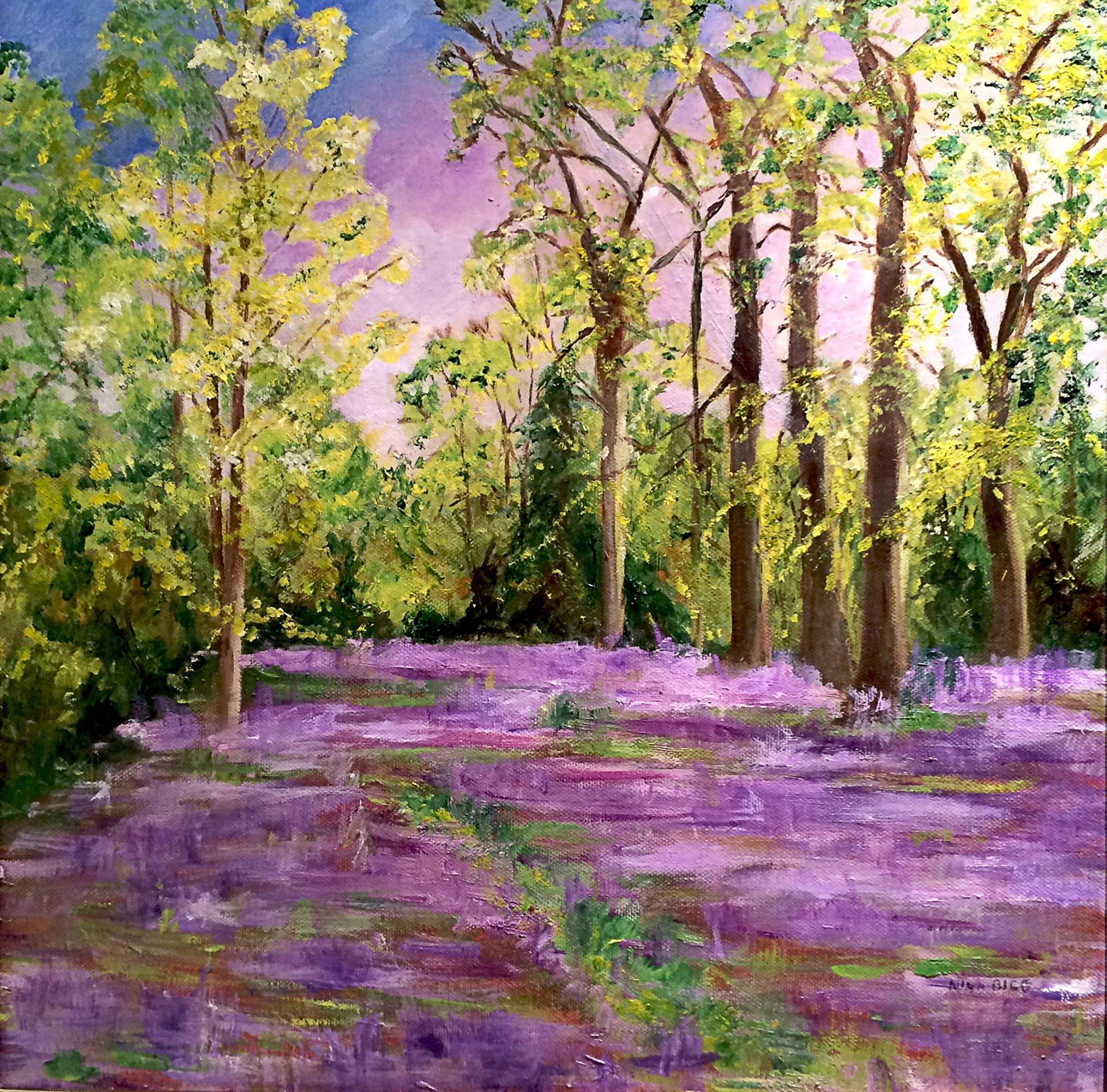 Bluebell Woods By Nina Bigg