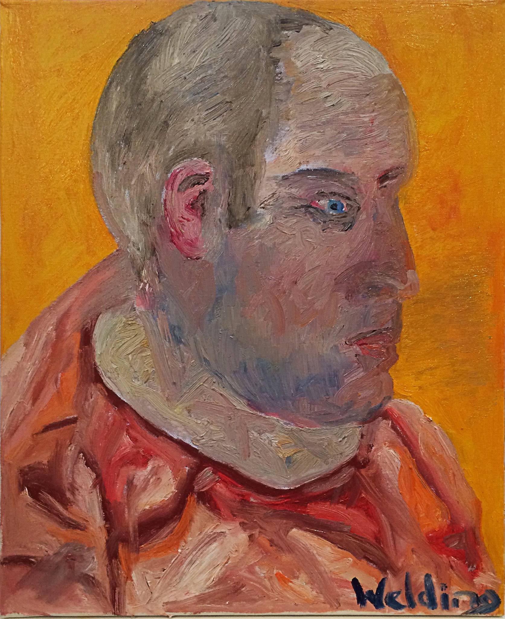 Portrait of Frazer by Andrew Welding