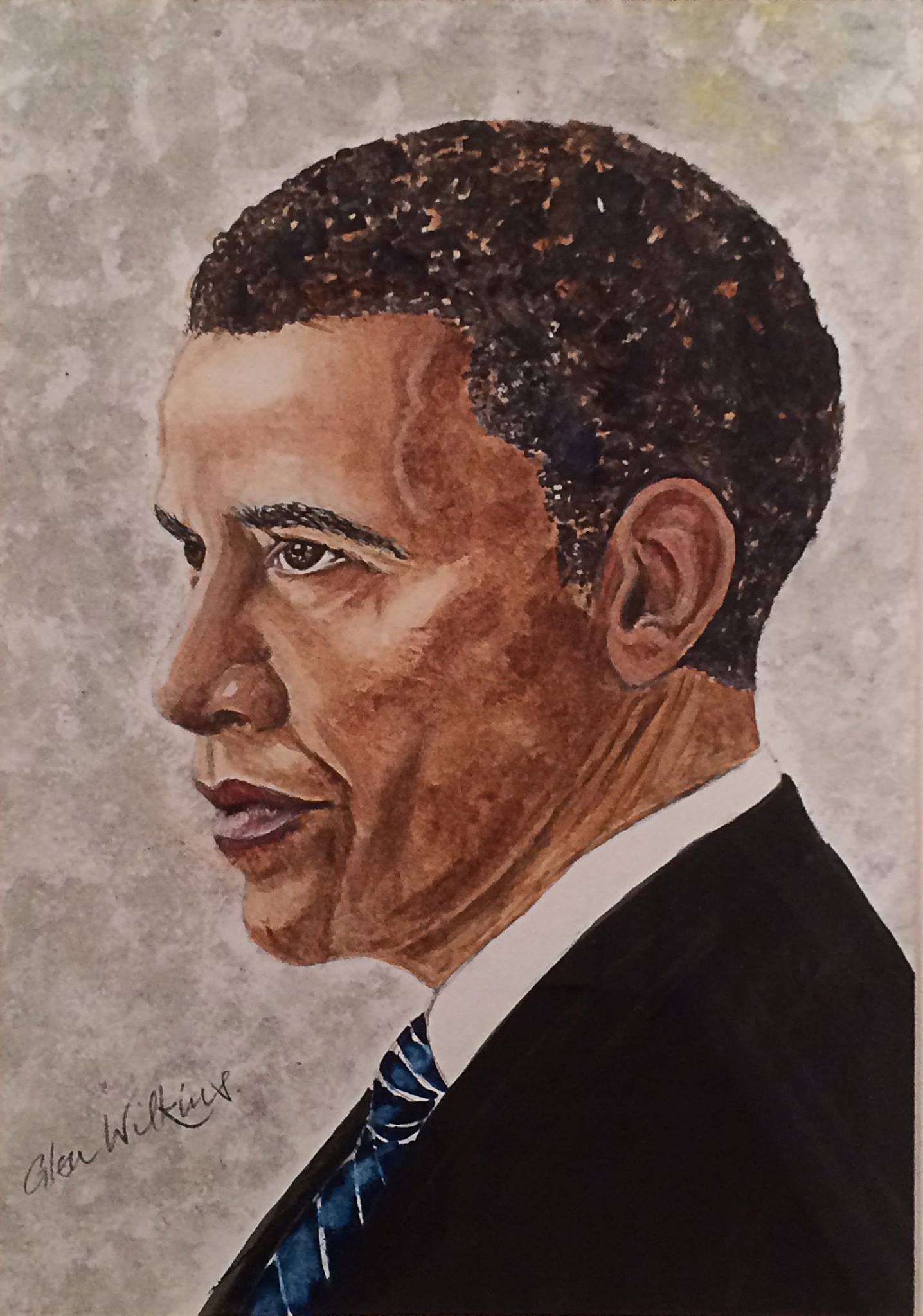 Barack Obama by Glen Wilkins