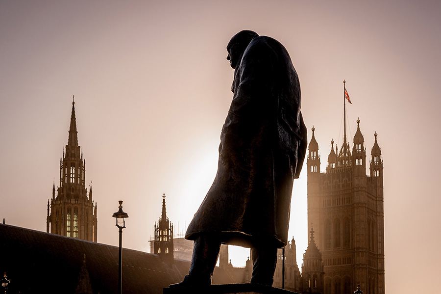 Churchill by Chris Allum at the West London Photo Exhibition