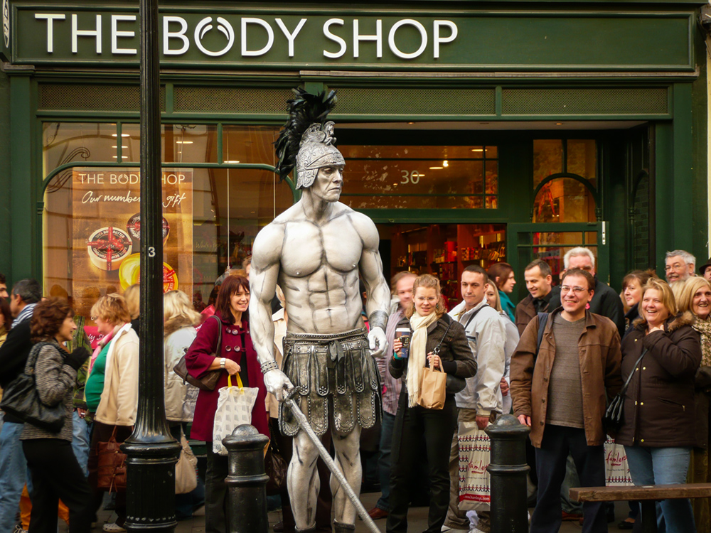 Bodyshop by Alan Dawkins