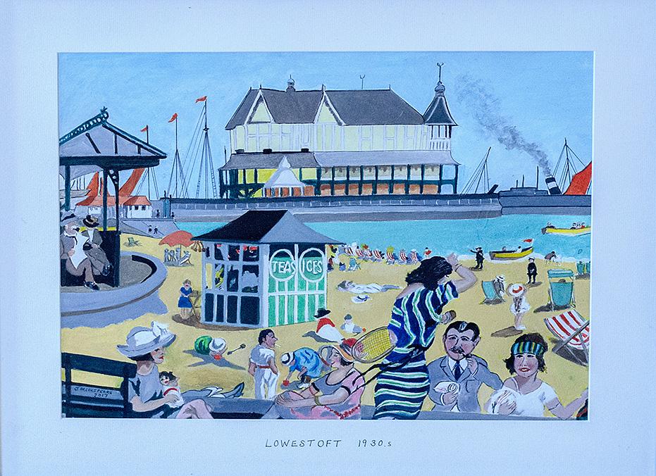 Lowestoft, by John Breakspeare.