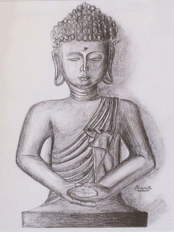 Buddha, by Bharath Hallegere.