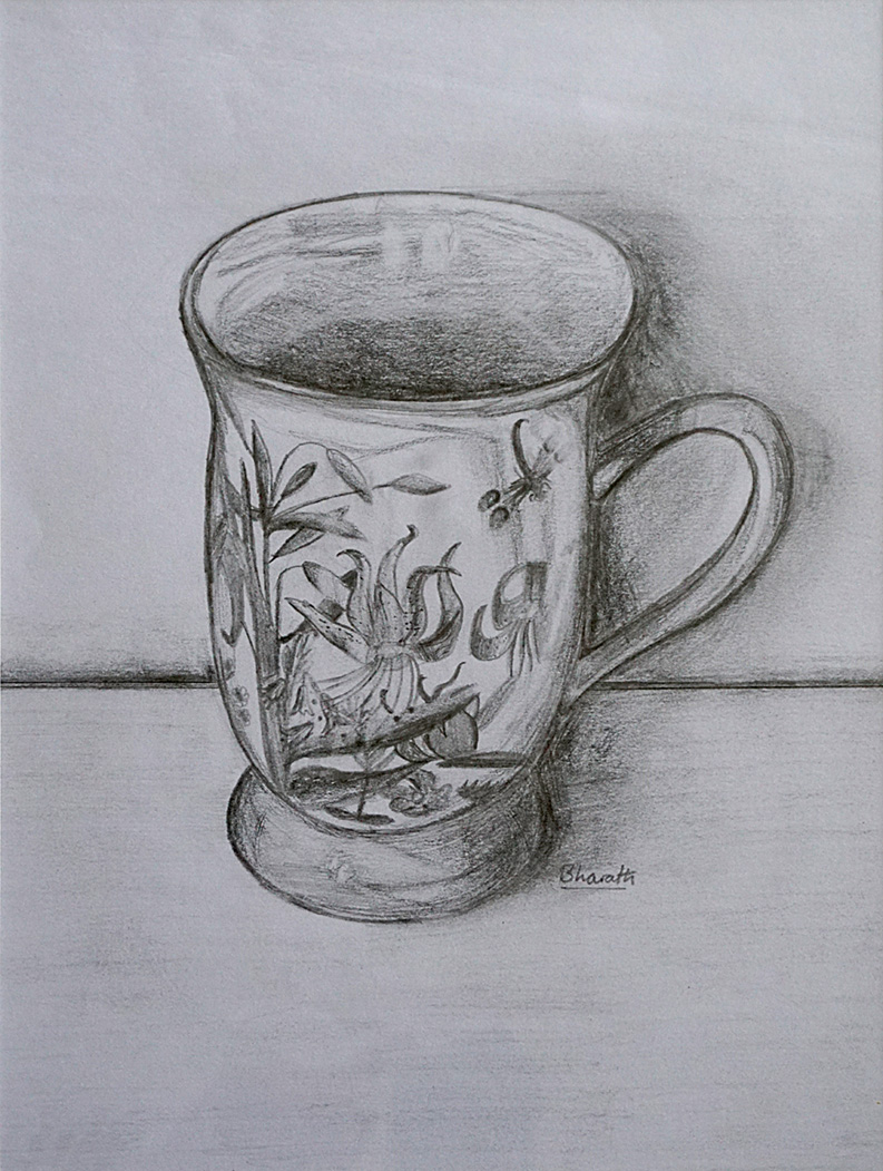 Chinese Mug, by Bharath Hallegere.