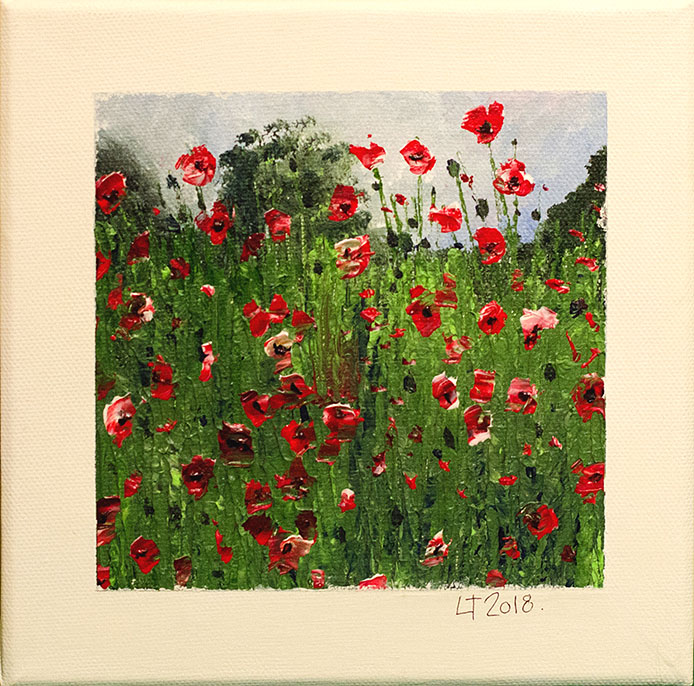 Poppies by Lisa Tompkins