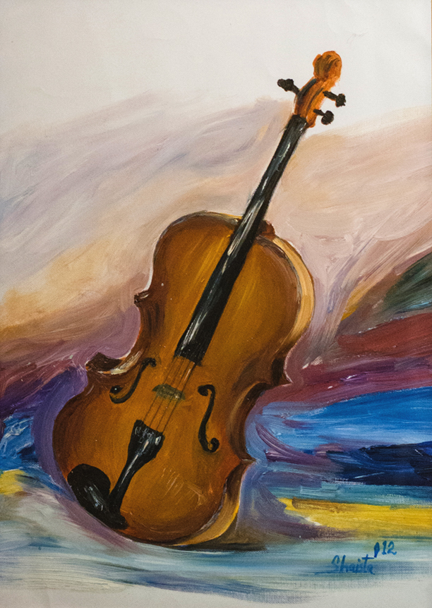 Violin notes by Shaz